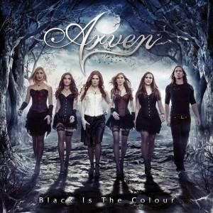 RockmusicRaider Review - Arven - Black is the Colour - Album Cover