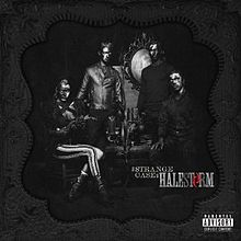 RockmusicRaider Review - Halestorm - A Strange Case of - Album Cover