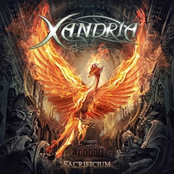 RockmusicRaider Review - Xandria - Sacrificium - Album Cover