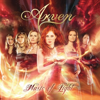 RockmusicRaider Review - Arven - Music of Light - Album Cover