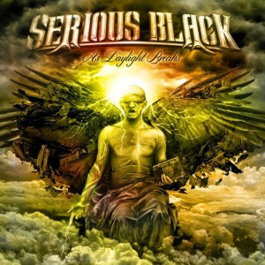 RockmusicRaider Review - Serious Black - As Daylight Brakes - Album Cover