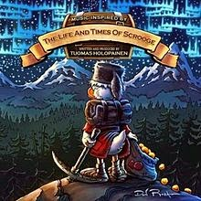 RockmusicRaider - Tuomas Holopainen - Life and Times of Scrooge - Album Cover