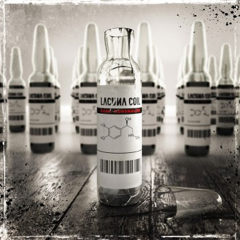 RockmusicRaider Review - Lacuna Coil - Dark Adrenaline - Album Cover