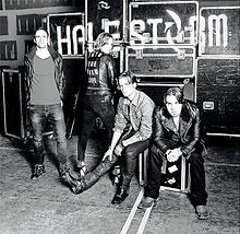 RockmusicRaider Review - Halestorm - Into The Wild - Album Cover