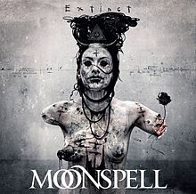 RockmusicRaider Review - Moonspell - Extinct - Album Cover