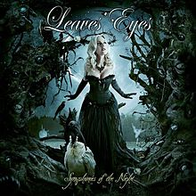 RockmusicRaider Review - Leaves' Eyes - Symphonies of the Night - Album Cover