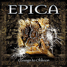 RockmusicRaider Review - Epica - Consign to Oblivion - Album Cover
