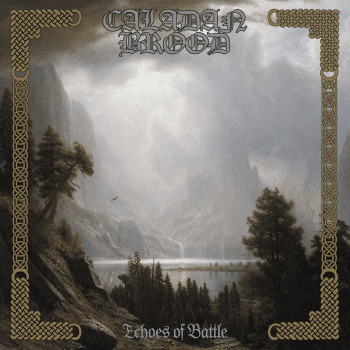 RockmusicRaider Review Caladan Brood Echoes of Battle - Album Cover