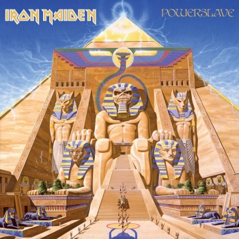 RockmusicRaider Review Iron Maiden Powerslave - Album Cover