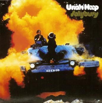 RockmusicRaider Review - Uriah Heep - Salisbury - Album Cover