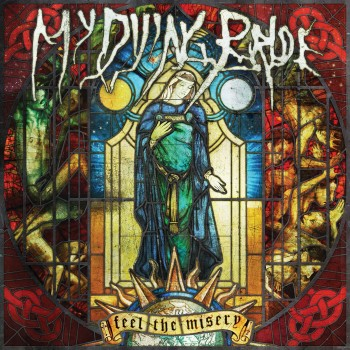 RockmusicRaider Review - My Dying Bride - Feel The Misery - Album Cover