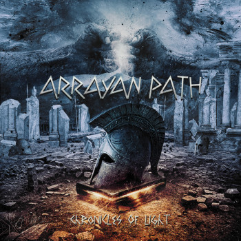 RockmusicRaider Review - Arrayan Path - Chronicles of Light - Album Cover