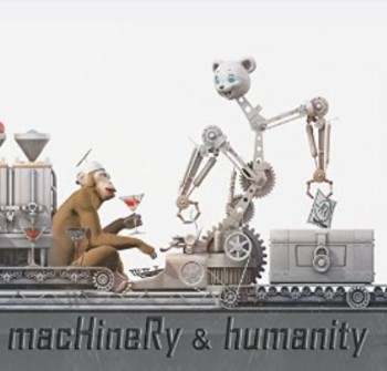 RockmusicRaider Newsflash - Hard Reset - Machinery and Humanity - Cover Art