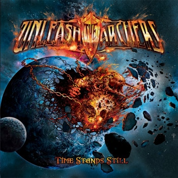 RockmusicRaider Review - Unleash The Archers - Time Stands Still - Album Cover