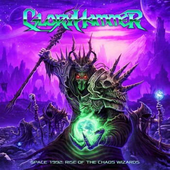RockmusicRaider - Gloryhammer - Space 1992 - Album Cover
