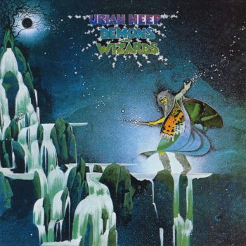 RockmusicRaider Review - Uriah Heep - Demons and Wizards - Album Cover