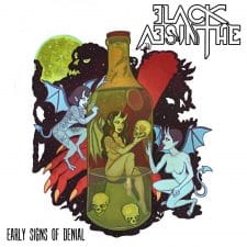 RockmusicRaider Newsflash - Black Absinthe - Early Signs of Denial - Album Cover