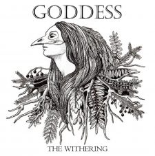 RockmusicRaider Newsflash - Goddess - The Withering - Album Cover