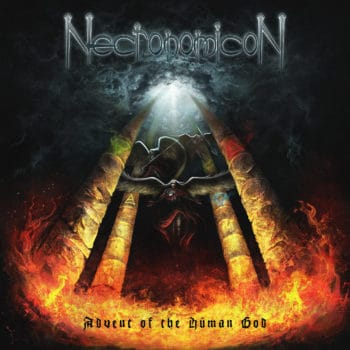 RockmusicRaider Review - Necronomicon - Advent of the Human God - Album Cover