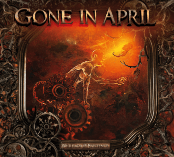 RockmusicRaider Review - Gone in April - Threads of Existence - Album Cover
