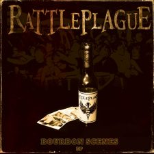 RockmusicRaider Newsflash - Rattleplague - Bourbon Scenes - Album Art