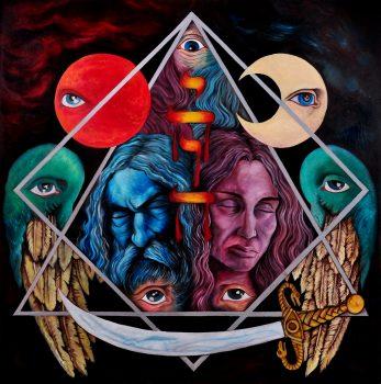RockmusicRaider Review - Riti Occculti - Tetragrammaton - Album Cover