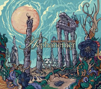RockmusicRaider Review - Aephanemer - Memento Mori - Album Cover