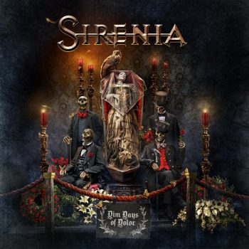 RockmusicRaider Review - Sirenia - Dim Days of Dolor - Album Cover