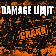 RockmusicRaider Newsflash - Damage Limit - Crank - Album Cover