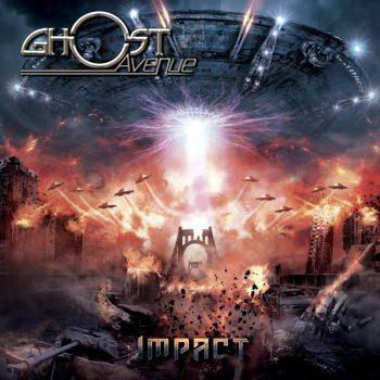 RockmusicRaider Review - Ghost Avenue - Impact - Album Cover