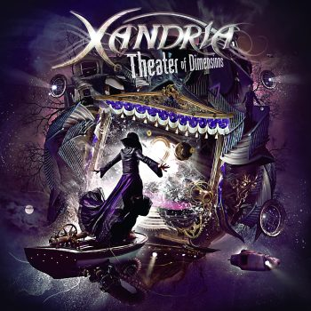 RockmusicRaider Review - Xandria - Theater of Dimensions - Album Cover