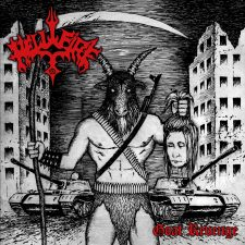 RockmusicRaider Newsflash - Hellfire - Goat Revenge - Album Cover