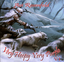 RockmusicRaider Newsflash - Avi Rosenfeld - Very Heepy Very Purple VI - Album Cover