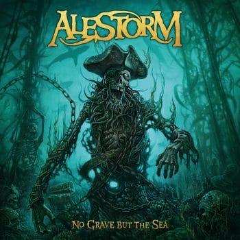 RockmusicRaider Review - Alestorm - No Grave But The Sea - Album Cover