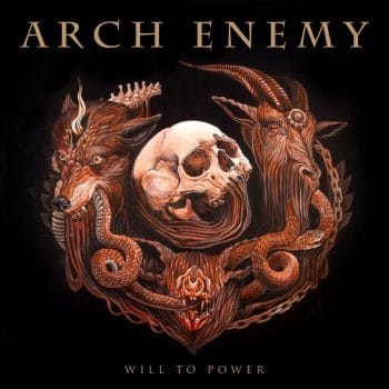 RockmusicRaider Review - Arch Enemy - Will To Power - Album Cover