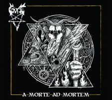 Rockmusicraider Newsflash - Gort - A Morte Ad Mortem - Album Cover