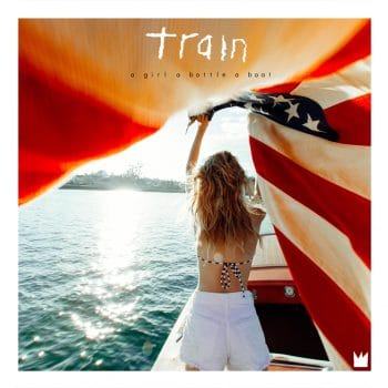 RockmusicRaider Review - Train - A Girl A Bottle A Boat - Album Cover