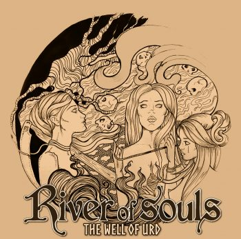 RockmusicRaider Review - River of Souls - The Well of Urd - Album Cover