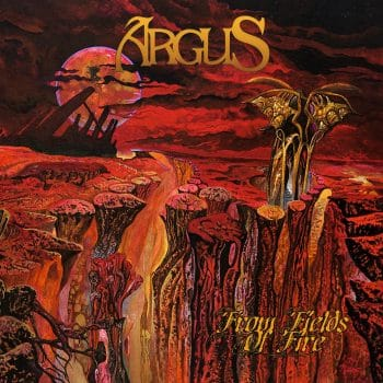 RockmusicRaider Review - Argus - From the Fields of Fire - Album Cover
