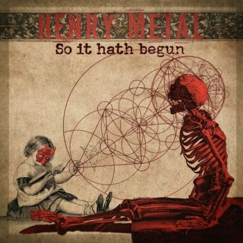 RockmusicRaider Review - Henry Metal - And So It Hath Begun - Album Cover
