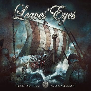 RockmusicRaider Review - Leaves' Eyes - Sign of the Dragonhead - Album Cover