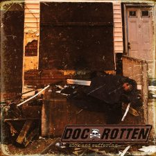 RockmusicRaider Newsflash - Doc Rotten - Sick & Suffering - Album Cover