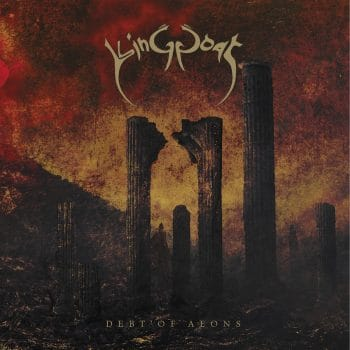 RockmusicRaider Review - King Goat - Debt of Aeons - Album Cover