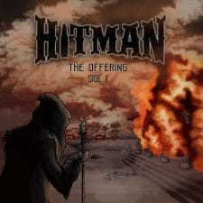 RockmusicRaider Newsflash - Hitman - The Offering Side 1 - Album Cover