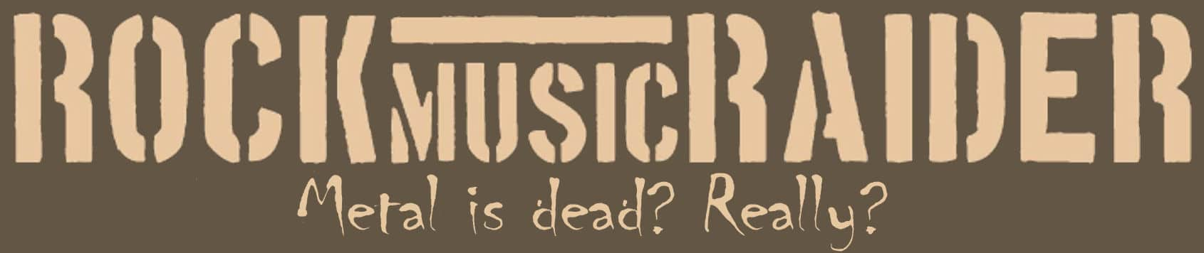RockmusicRaider Logo - Metal Is Dead