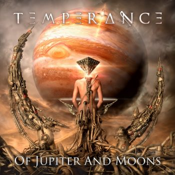 RockmusicRaider Review - Temperance - Of Jupiter and Moons - Album Cover