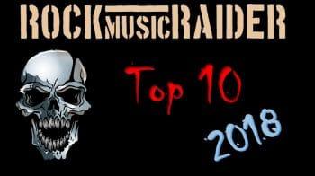 RockmusicRaider - 2018 Top 10