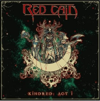 RockmusicRaider - Red Cain - Kindred: Act I - Album Cover