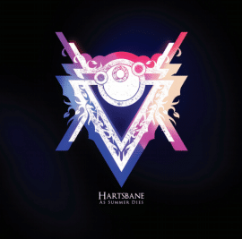 RockmusicRaider - Hartsbane - As Summer Dies - Album Cover