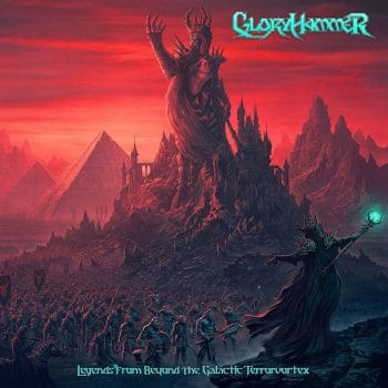 RockmusicRaider - Gloryhammer - Legends From Beyond the Galactic Terrorvortex - Album Cover